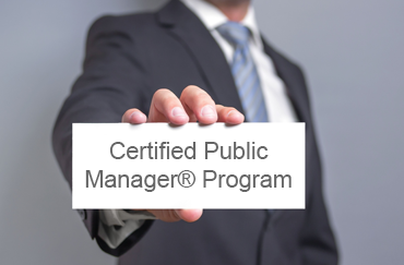 Certified Public Manager